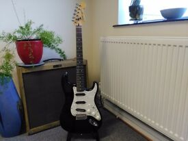 Fender Stratocaster, Squier , Korean E10 series, Alnico pups!!!! Amazing! Sought after slim neck!