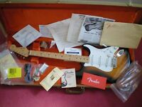 Fender 60th Anniversary Limited Edition 1954 Reissue Stratocaster, all strat case candy. USA made.