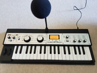 Microkorg XL Synthesizer Mint Condition with microphone, adapter and case