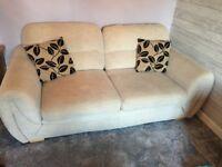 FREE 2 seater fabric sofa