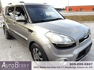 2012 Kia Soul 4U *** CERT & E-TEST ** ACCIDENT FREE *** $6,999