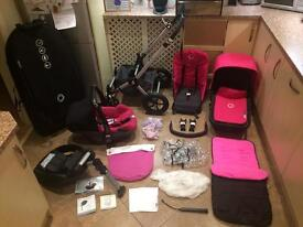 Bugaboo Cameleon 2 Huge Package in Pink