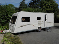 Bailey Senator Arizona (2006) 4 Berth Caravan, Motor Mover and Awning. Sale includes all accesories.