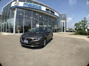 2015 Mazda Mazda3 Sport GS,ONE OWNER, NO ACCIDENTS, ALLOY WHEELS