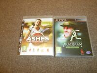 Don Bradman Cricket 14 (Sony PlayStation 3, 2014) & Ashes Cricket 2009