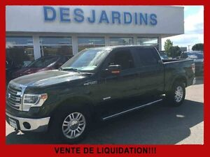 2014 Ford F-150 4WD SUPER CREW 157'' WB Lariat / Cuir / Toit Ouv