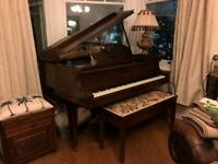 Baby Grand Piano *SOLD PENDING COLLECTION*
