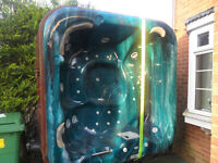 Garden Hot Tub seats 5 cost £5000 new great fun and hot nights
