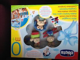 Baby Boy Musical Cot Mobile