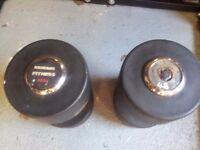 Pair 48KG dumbbells