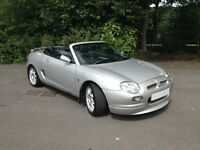 2001 51 REG MG MGF FREESTYLE/HI SPEC/ LOW MILES/SERVICE HISTORY/NEW MOT...........
