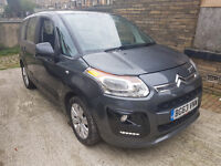 2013 63 Reg: Citroen C3 Picasso VTR+. 1.6 DIESEL. 77,000 MILES. ONLY £20 TAX.