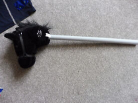 black hobby horse with sounds
