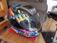 Shoei motorcycle helmet size 60 large in good condition clearing out from under my bed