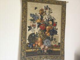 Beautiful Large Handfinished Flemish Tapestry