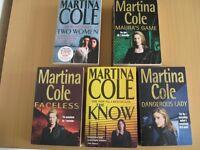 MARTINA COLE Paperbacks