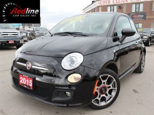 2015 Fiat 500 Sport Bluetooth-Accident Free-Auto