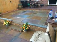 Slabbing, patios and paving