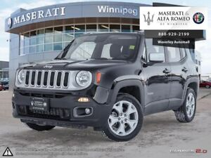 2018 Jeep Renegade Limited: Leather, Panoramic Roof, Naviga