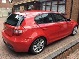 **BMW 118D M SPORT, 6 SPEED MANUAL, LOW MILEAGE WITH FULL SERVICE HISTORY, HPI CLEAR**