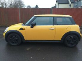 Mini One 1.4. 2008 '57'. 11 months MOT. Sat-nav £1199