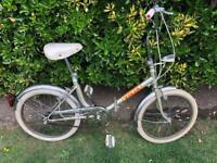 Folding shopper bike