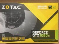 ZOTAC GeForce GTX 1080 Ti AMP Extreme Core Edition 11GB GDDR5X