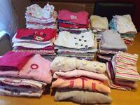 Big bundle baby girl cloths 3-6 months
