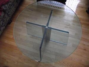 glass coffee table Strathcona County Edmonton Area image 2