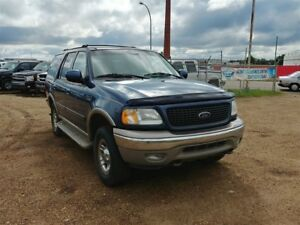 2002 Ford Expedition Eddie Bauer 5.4L V8 4x4!! 7 Passenger Leath