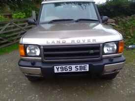 2001 Land Rover Discovery TD5. 12 Months MOT. NEW PICS