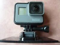 GoPro Hero 5 Black (with power lead and 32gb sd card) £250