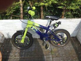 """Boys raleigh Striker Bike 14"""""""