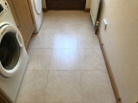 Uniclic floor tiles 40x40 cm