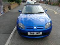 MG TF in limited edition trophy Blue on a 04 plate