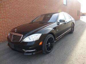 2012 Mercedes-Benz S-Class S550 -- 4MATIC -- AMG PKG -- BLACK ON