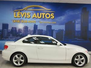 2008 BMW 128I I PREMIUM PACKAGE BLANC CUIR TOIT OUVRANT