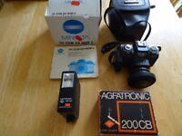 35mm Minolta camera 110 200m SLR mark 2 - £40 OVNO
