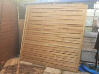 Brand New Fence Panels 6×6 £10 EACH!
