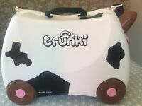 Trunki - Frieda The Cow Ride on Suitcase for Kids