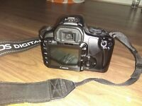 Canon EOS 400D DSLR Camera with 2 Lenses and Accessories