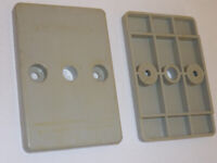 Rests, or Base Pads, from PASSAP Duomatic Pink Knitting Machine - Pair