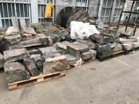 Over 100 ton of granite blocks, lintels, millions and cills for sale