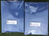 Job lot of 50 dark blue exercise books