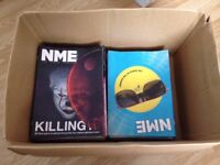 NME Magazine Job Lot June '17 - October '17 (5-6 Copies of each mag NEW!).