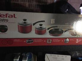 Tefals - pots and pans set