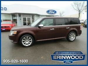 2010 Ford Flex Limited - 6CYL/LTHR/REV SENS/PWR LIFTGATE/20 ALLO