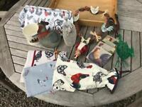 Collection of hen themed items