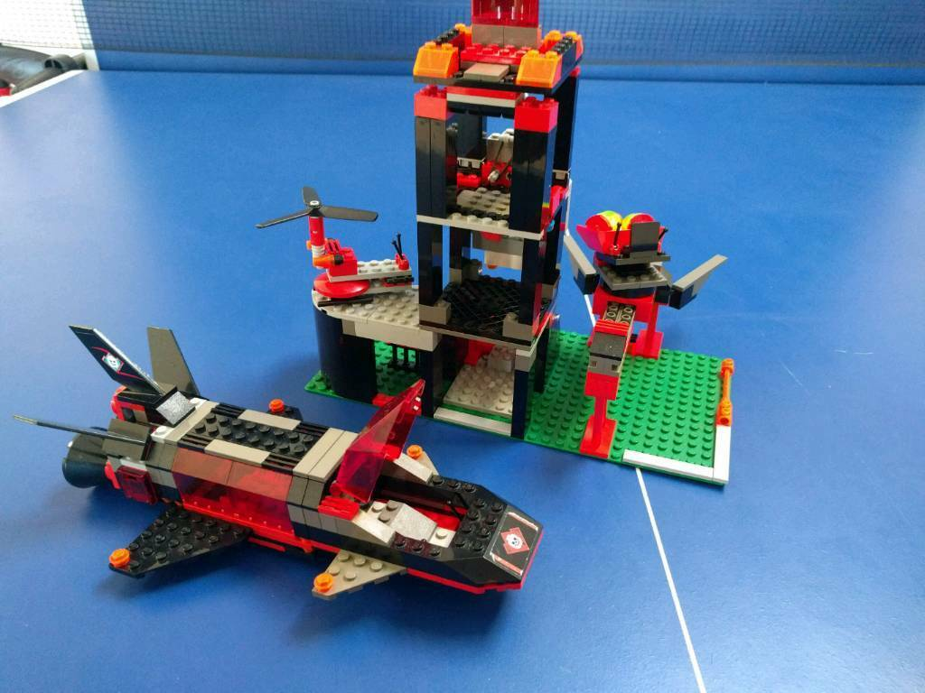Lego Alpha Team Ogel Shark Sub And Control Centre In Norwich