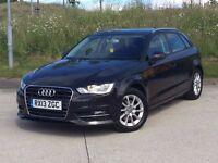 2013 Audi A3 2.0 TDI SE Sportback 5dr diesel 150 BHP**NEW SHAPE**SATNAV**company car